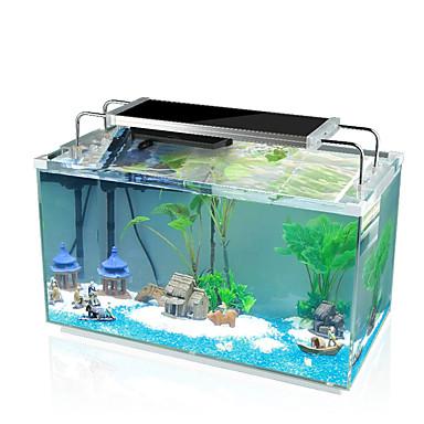 preiswerte Accessoires für Fische & andere Aquarientiere-Aquarium Fisch Glas Verzierungen Schildplatt Energieeinsparung Glas 1 Stück
