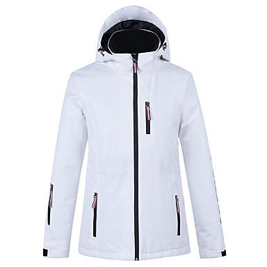 ARCTIC QUEEN Mulheres Jaqueta de Esqui Esqui Acampar e Caminhar Esportes de Inverno Prova-de-Água A Prova de Vento Quente Poliéster Blusas Térmicas Roupa de Esqui