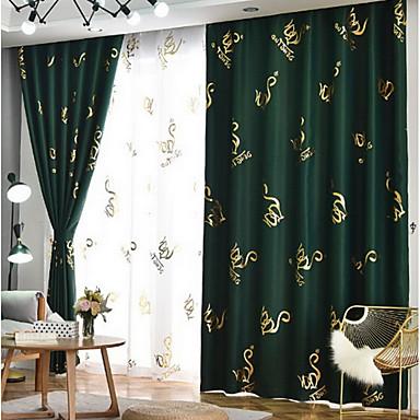 preiswerte Fensterdekoration-nordic simple style vorhang new bronzing black shading shade stoff für schlafzimmer verdickt