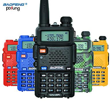 Χαμηλού Κόστους Ηλεκτρονικά είδη καταναλωτή-baofeng uv-5r φορητό ραδιόφωνο επαγγελματική cb ραδιοφωνικό σταθμό baofeng uv5r πομποδέκτη 8w vhf uhf φορητό uv 5r κυνηγιού ζαμπόν ραδιόφωνο