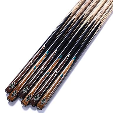 cheap Billiards & Pool-RILEY RMA Snooker Cue Professional 1Piece Cue Black Ebony Butt Ash shaft Handmade Billiard Cue Case