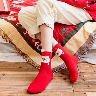 preiswerte Modische Unterwäsche-Damen Socken Warm Rote Grün Einheitsgröße