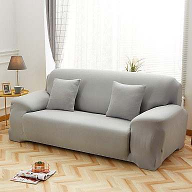 cheap Slipcovers-2020 high quality pure color new high elastic skin-friendly comfortable dust-proof sofa cover sofa cover