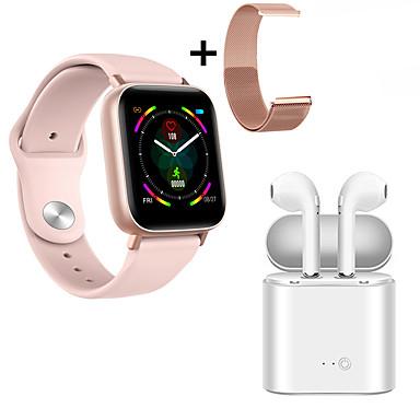 cheap Smartwatches-Indear M9  Women Smart Bracelet Smartwatch Android iOS Bluetooth Waterproof with TWS Bluetooth Wireless Headphones Music Headphones