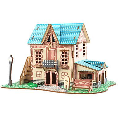 Παζλ 3D / Παζλ / Kit de Construit Σπίτια / Μόδα / Κάστρο Παιδικά / Νεό Σχέδιο / Hot Πώληση Ξύλινος 1 pcs Κλασσικό / Μοντέρνο / Σύγχρονο / Μοντέρνα Παιδικά Δώρο