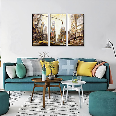 cheap Framed Arts-Framed Art Print Framed Set - Landscape PS Oil Painting Wall Art