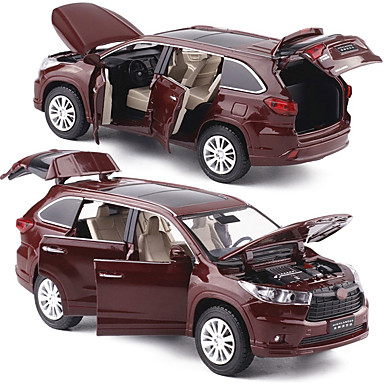 cheap Diecasts & Toy Vehicles-1:32 Diecast Vehicle Model Car SUV Music & Light Pull Back Vehicles Metal Alloy Mini Car Vehicles Toys for Party Favor or Kids Birthday Gift 1 pcs / Kid's