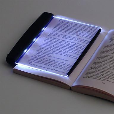 abordables Électronique & Industrie-Led livre lumière lecture veilleuse yeux lampes de protection plaque plate portable led lampe de bureau pour la maison intérieure enfants lampe de bureau