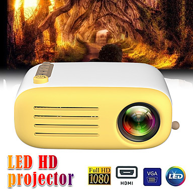 cheap Projectors-YG200  USB HDMI AV SD Mini Portable HD LED LCD Projector Beamer Home Media Movie Player Support 1080P AV USB SD Card 320 x 240 HDMI / USB / AV / CVBS for Home School Office