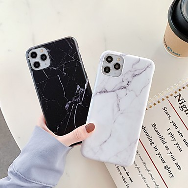 cheap iPhone Cases-Case For Apple iPhone 11 / iPhone 11 Pro / iPhone 11 Pro Max Shockproof / IMD Back Cover Marble TPU