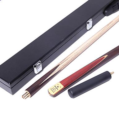 Snooker Rosenträ Billiard Cue Sticks Trekvarts Tvådelad Kö Handgjord