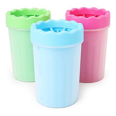 Μικρά τριχωτά κατοικίδια ζώα Καθαρισμός PP YARN Μπανιέρες Καθημερινά Κατοικίδια Είδη καλωπισμού Πράσινο Μπλε Ροζ