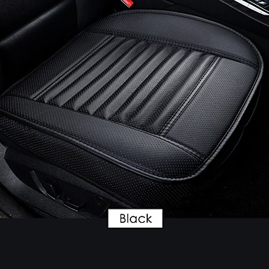 cheap Automotive-Car Front Seat Cover PU Non-slip Car Seat Cushion Cover Auto Chair Cushion PU Leather Pad Breathable Car Front Seat Cover for Four Seasons