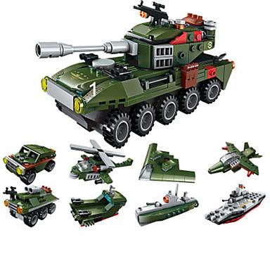 cheap Building Blocks-Building Blocks Military Blocks Educational Toy Model Building Kit Construction Set Toys Tank Soldier compatible Plastic Legoing Boys' Girls' Toy Gift / Kid's