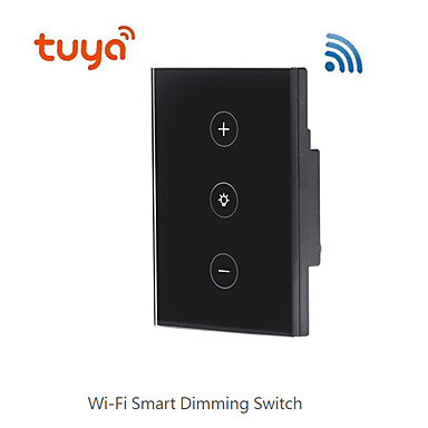 cheap Smart Switch-Tuya smart switch wifi US regulatory cross-border new product dimming smart switch supports Alexa