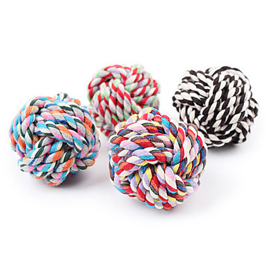 cheap Dog Toys-Chew Toy Ropes Cat Dog Pet Toy 1 Rope Textile Gift