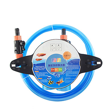 cheap Cleaning Tools-Aquarium Fish Cleaning Tools Fish Bowl Cleaning Care Reusable Easy to Install Plastic 1 pc
