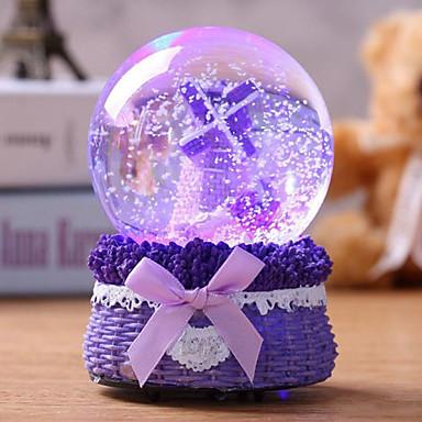 billige Spilledåser-Spilledåse Ferie Kontor / Business Kreativ Smuk Unik Krystal Glas silica Gel Dame Alle Pige Børne Voksen Voksne 1 pcs Eksamen gaver Legetøj Gave
