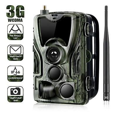 abordables Électronique & Industrie-3g sms mms smtp trail chasse caméra 16mp caméras cellulaires hc801g photo pièges surveillance sauvage avec 5000 mah batterie au lithium