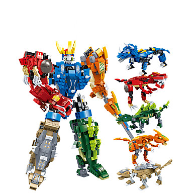 cheap Building Blocks-Building Blocks 1 pcs Tyrannosaurus Rex compatible Plastic Shell Legoing Transformable Focus Toy DIY All Toy Gift