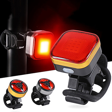 3 LED Waterproof Bicycle Cycling Bike Light Tail Light Safety Warning Bag Lamp