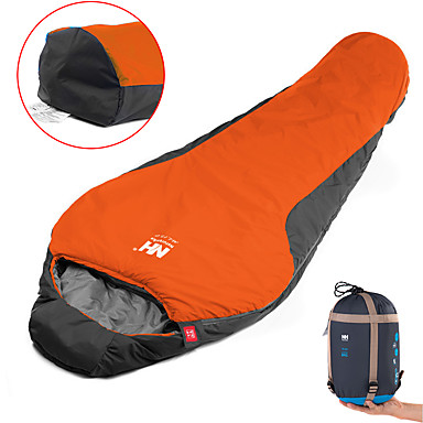 cheap Sleeping Bags & Camp Bedding-Naturehike Sleeping Bag Outdoor Camping Mummy Bag 0~5 °C Single T / C Cotton Portable Windproof Breathable Warm Moistureproof Ultra Light (UL) 220*83 cm Spring &  Fall Summer for Camping / Hiking