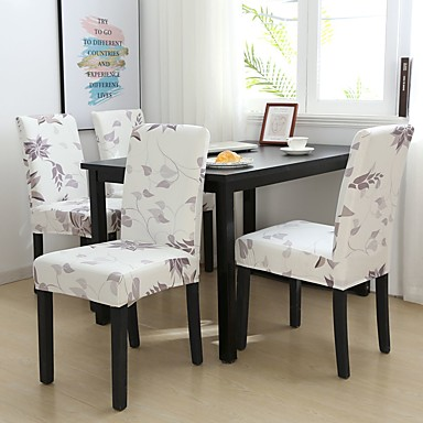 cheap Slipcovers-Chair Cover Floral / Romantic / Contemporary Printed Polyester Slipcovers