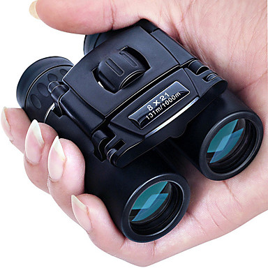 cheap Binoculars, Monoculars & Telescopes-8 X 21 mm Binoculars Porro Waterproof Portable Night Vision in Low Light Fully Multi-coated BAK4 Camping / Hiking Hunting and Fishing Traveling Night Vision / Bird watching