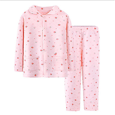 cheap Girls' Underwear & Socks-Kids Girls' Polka Dot Underwear & Socks White