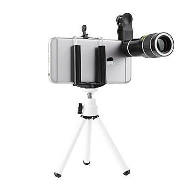 billige Kamera, Bilde & Video-20x universalt tele teleskop mobiltelefon objektiv ekstern linselinser og klipp for iphone x 7 8 xiaomi huawei ect smarttelefon