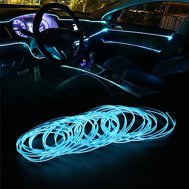 billige Bil Dekorasjonslys-1pcs Wire-tilkobling Bil Elpærer LED Dekorasjonslys Til Universell