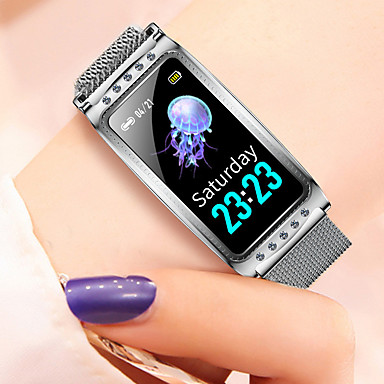 olcso Ékszerek&Karórák-F28 Uniszex Intelligens karszalagok Bluetooth Vízálló Szívritmus monitorizálás Vérnyomásmérés Távolságmérés Információ Lépésszámláló Hívás emlékeztető Testmozgásfigyelő Alvás nyomkövető ül