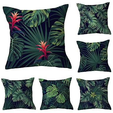 cheap Decorative Pillows-Set of 6 Throw Pillow Simple Classic 45*45 cm Cushion Vintage Circle Cover Sofa Home Decor Throw Pillow Case