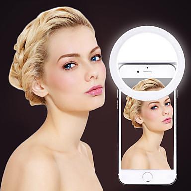 cheap Camera & Photo-USB Charge Selfie Ring Light LED Ring Flash Universal Selfie Light Portable Mobile Phone 36 LEDS Selfie Lamp Luminous Ring Clip For iPhone 8 7 6 Plus Samsung