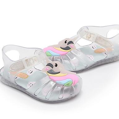 voordelige Kind 'Schoenen-Meisjes Comfortabel / Jelly PVC Sandalen Peuter (9m-4ys) Wit / Geel / Blauw Lente