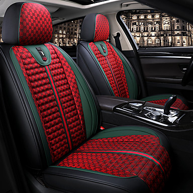 cheap Car Seat Covers-Four Seasons General Sport Style Fabric Car Seat Full Cover for five-seat car / Linen Material Seat cushion / Airbag compatible / Adjustable and Removable/Family car / SUV
