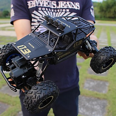 cheap Drones & Radio Controls-RC Car 01 2.4G Off Road Car 50 km/h WiFi / Quick Charging / Ergonomic Design