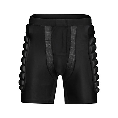 cheap Scooters, Skateboarding & Rollers-Impact Shorts for Ski / Snowboard / Ice Skate / Roller Skating Men's / Women's Moisture Wicking / Shockproof / Protection Polyester / Spandex Lycra / EVA 1 Piece Black