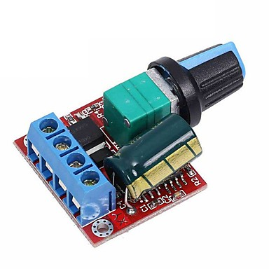 cheap Electrical Equipment & Supplies-AU PWM DC Motor Speed Controller 5V-35V 5A LED Light Regulation Dimmer Switch
