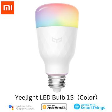 cheap Smart Lights-English Version  Xiaomi Yeelight Smart LED Bulb Colorful 800 Lumens 10W E27 Lemon Smart Lamp For Mi Home App White/RGB Option