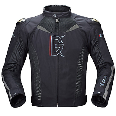 Alloy Shoulder Motorcycle Spring Summer Autumn Commuting Mesh Breathable Motorcycle Cycling Jersey Men's and women's Racing suit Anti-fall
