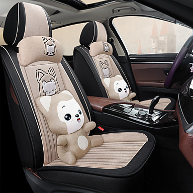 cheap Car Seat Covers-5 seats four seasons universal Seat Cover / PU Leather / Airbag compatibility / fiadjustable and removable / five color choices