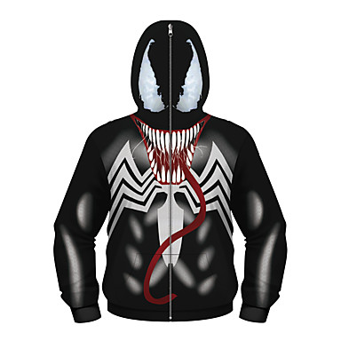 cheap Boys' Jackets & Coats-Kids Boys' Active Punk & Gothic Geometric Color Block Plaid Regular Suit & Blazer Black
