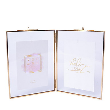 cheap Tabletop Picture Frames-Modern Contemporary Resin Shiny Picture Frames Wall Decorations, 1pc Picture Frames