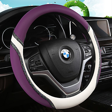 cheap Steering Wheel Covers-Universal Car Steering Wheel Cover Artificial PU Leather Comfortable Non-slip Automobile Steering-Wheel Cover