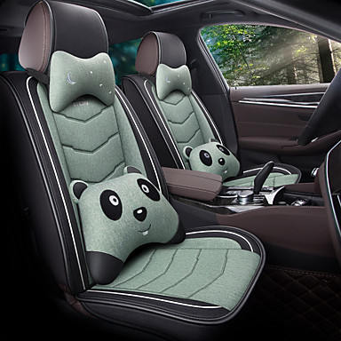 cheap Car Seat Covers-Breathable Summer Car cushion Car seat cover leather ice wire All-inclusive Four Seasons for surrounded / five seats / general seat cover