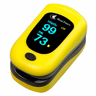 cheap Personal Care Electronics-HealForce POD-3 Finger Tip Pulse Oximeter Blood Oxygen SpO2 Pulse Rate BPM PI Test (Random Color Shipped, Batteries not include)