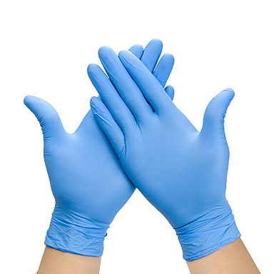 cheap Kitchen & Dining-100PCS Disposable Latex Gloves Rubber Gloves Cleaning Gloves Work Gloves