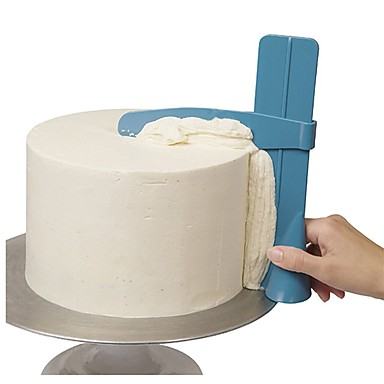 cheap Baking & Pastry Tools-Cake Scraper Smooth Adjustable Fondant Spatula Cake Edge Trimmer Cream Decoration DIY Dessert Accessories Kitchen Cake Tool