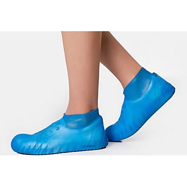 PVC(PolyVinyl Chloride) Shoe Cover Unisex Sports & Outdoor Black / Light Yellow / Dark Grey